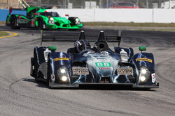 #88 Starworks Motorsport ORECA FLM09: Sean Johnston, Maro Engel, Michael Lyons