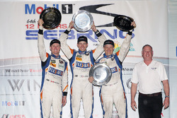 PC podium: winners Jon Bennett, Colin Braun, Mark Wilkins, CORE autosport