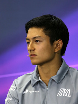 Rio Haryanto, Manor Racing during the press conference
