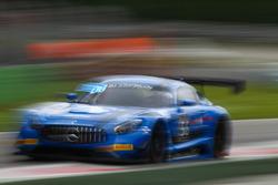 #56 Black Falcon, Mercedes-AMG GT3: Oliver Morley, Miguel Toril, Maro Engel