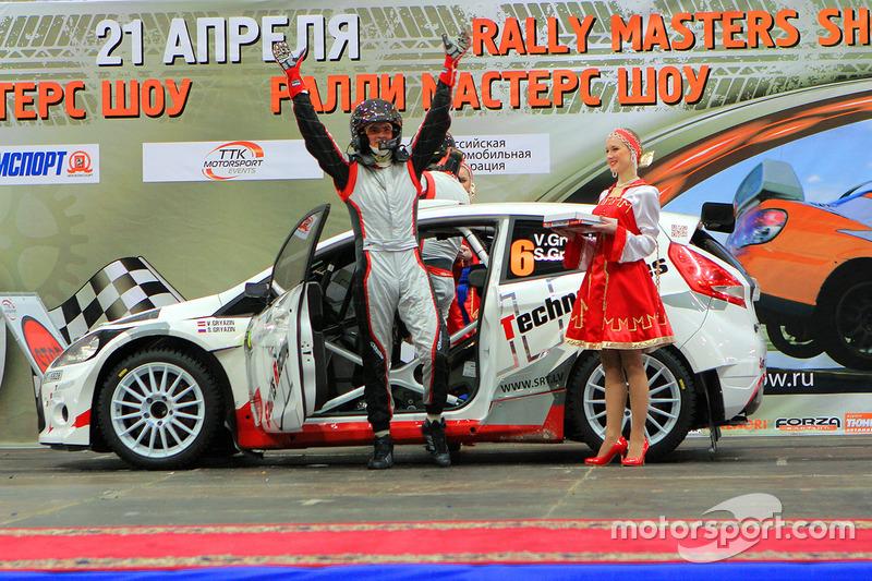 2012 год – Василий Грязин и Станислав Грязин, Ford Fiesta Super 2000