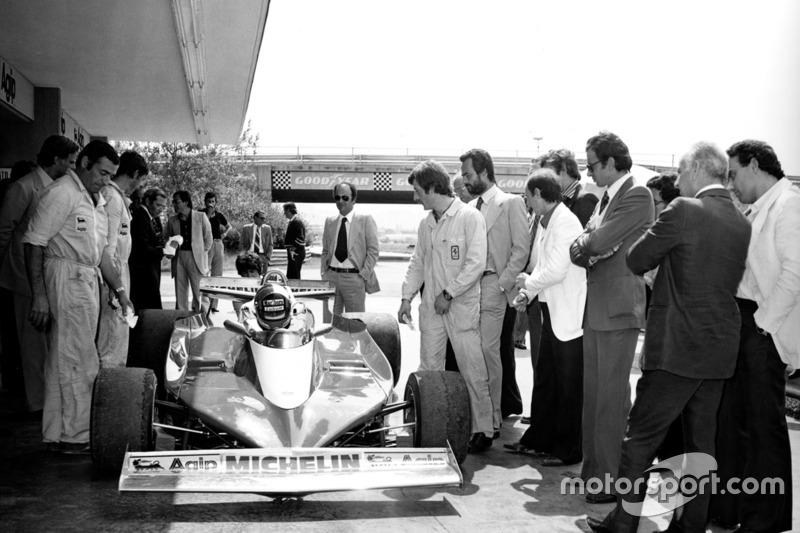 1978: тесты во Фьорано, Ferrari 312T3