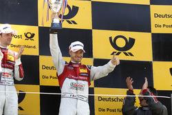 Podium: third place Edoardo Mortara, Audi Sport Team Abt Sportsline, Audi RS 5 DTM