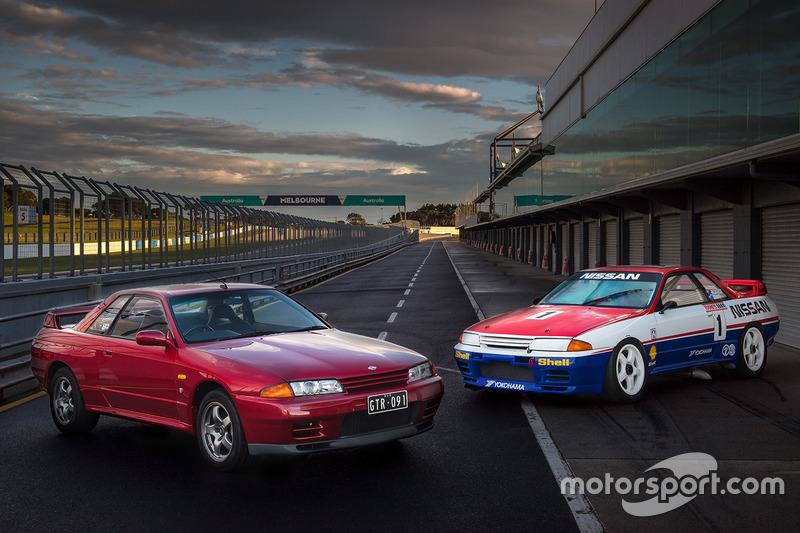 1991 Nissan GT-R yol ve yarış versiyonları