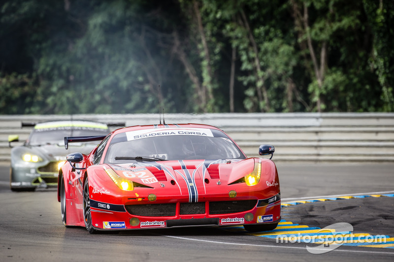 26th: (GTE AM WINNER) #62 Scuderia Corsa Ferrari 458 Italia: Bill Sweedler, Jeff Segal, Townsend Bell