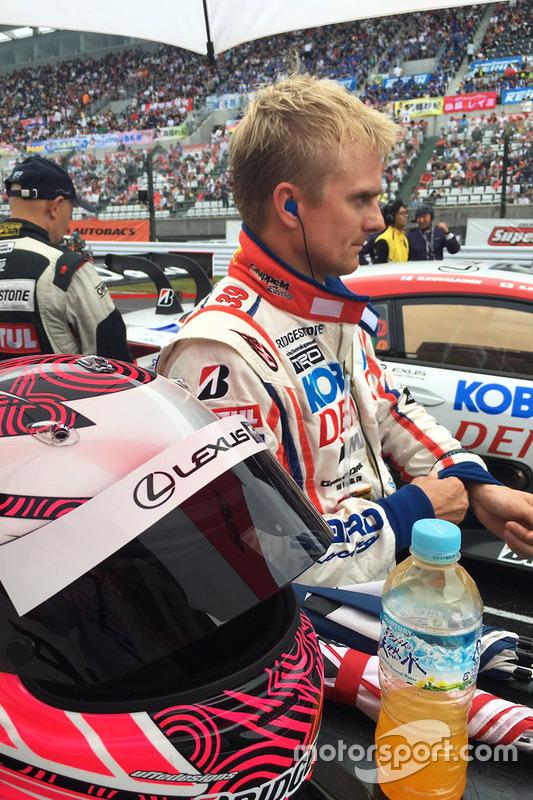 #39 Lexus Team Sard Lexus RC F: Heikki Kovalainen