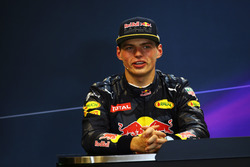 Max Verstappen, Red Bull Racing en la Conferencia de prensa FIA