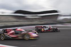 #7 Audi Sport Team Joest Audi R18: Marcel Fässler, Andre Lotterer y #13 Rebellion Racing Rebellion R-One AER: Matheo Tuscher, Dominik Kraihamer, Alexandre Imperatori