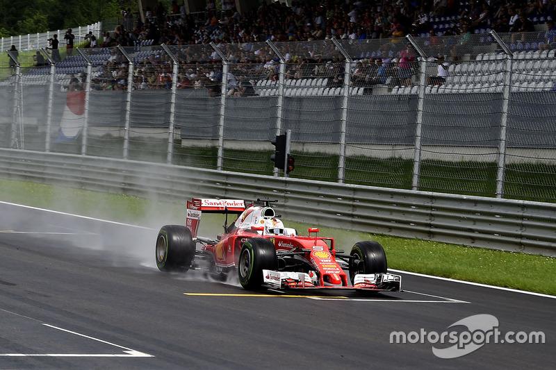 9: Sebastian Vettel, Ferrari SF16-H (incluida sanción de 5 posiciones)