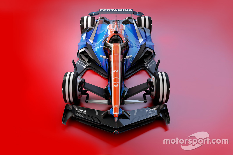 Manor Racing 2030 diseño fantasy