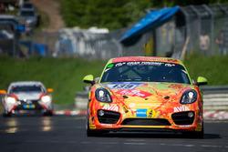 #139 Team Securtal Sorg Rennsport, Porsche Cayman S: Peter Haener, Paul Follett, Ugo Vincenzi, Alber