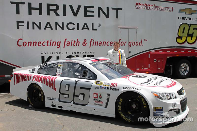 Michael McDowell, Circle Sport Leavine Family Racing, livrea speciale