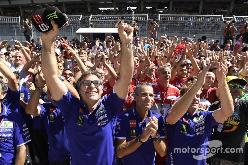 Yamaha Factory Racing team