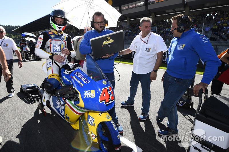 Stefano Valtulini, 3570 Team Italia, Mahindra