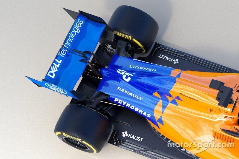 McLaren MCL34 в деталях