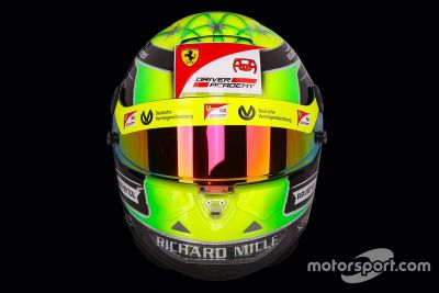 Helmdesign von Mick Schumacher