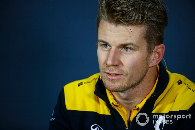 Nico Hulkenberg, Renault F1 Team in Press Conference