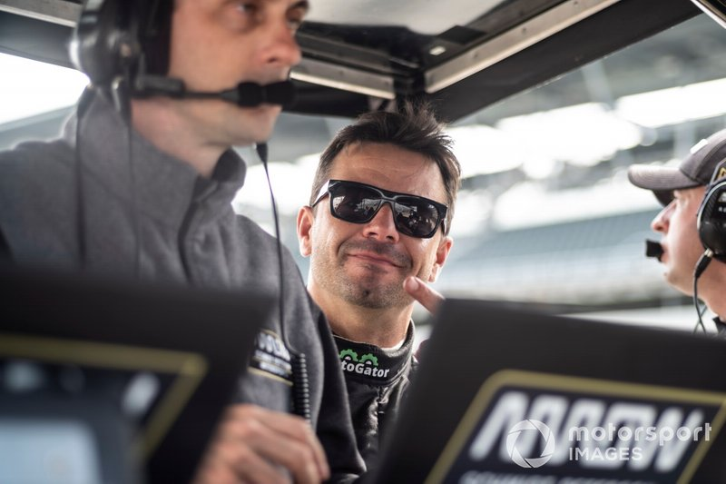 Oriol Servia has been a welcome and useful addition to the Arrow SPM camp for the Indy 500, as the veteran has been able to pass on his expertise and reassurance to rookie Ericsson.