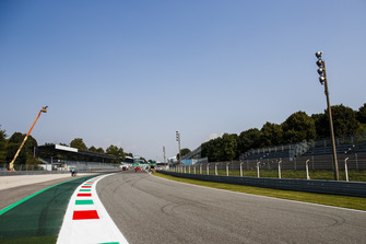 A view of the final corner