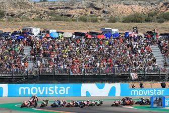 Jorge Lorenzo, Ducati Team crash at the start