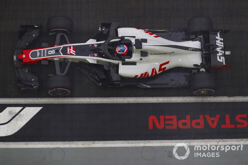 8: Romain Grosjean, Haas F1 Team VF-18, 1'38.320