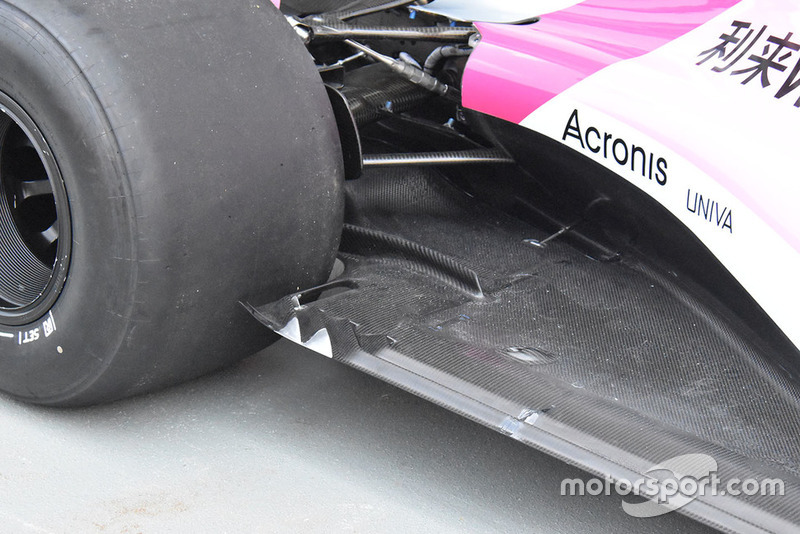 Racing Point Force India technical detail