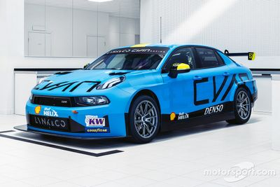 Cyan Racing livery unveil