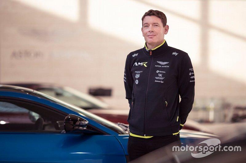 Anuncio de pilotos Aston Martin
