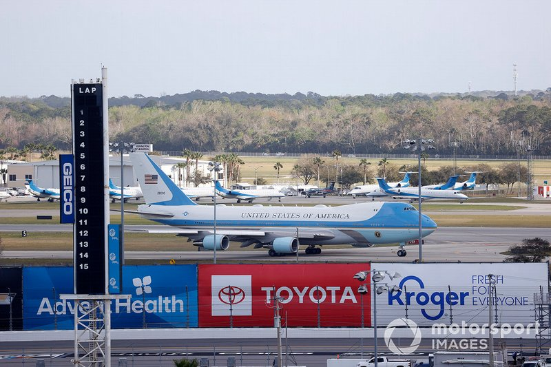 Air Force One at Daytona