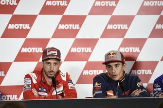 Andrea Dovizioso, Ducait Team, Marc Marquez, Repsol Honda Team