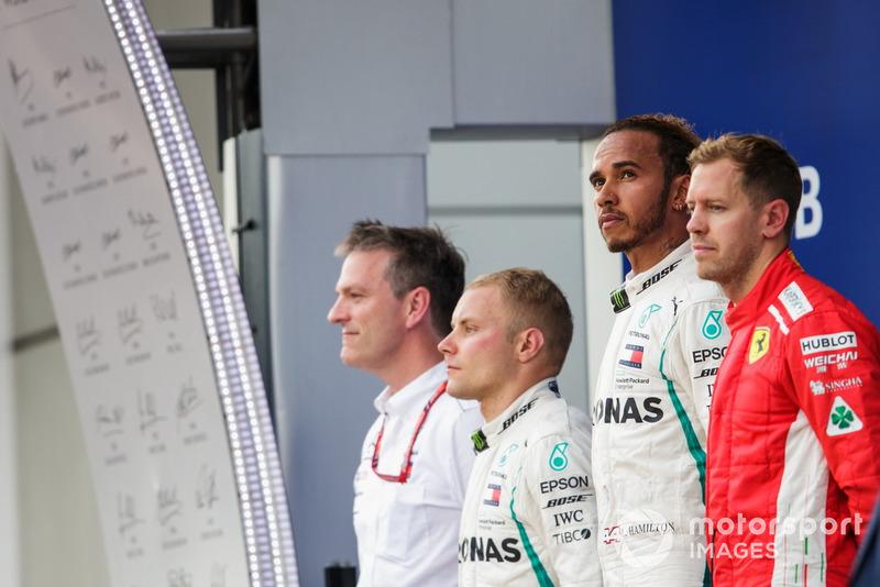 Caras series tras las órdenes de equipo, pero de nuevo dos pilotos Mercedes entre los tres primeros. Las estadísticas de los de Brackley se resumen así: 4 poles de 5, 5 victorias de 5 y 8 de 10 podios.