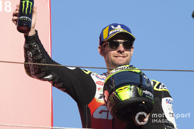 Подіум: друге місце Кел Кратчлоу, Team LCR Honda