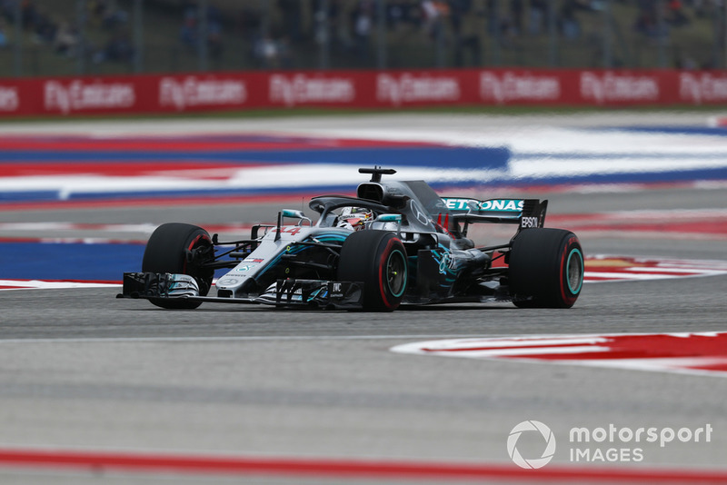 1º Lewis Hamilton, Mercedes AMG F1 W09 EQ Power+