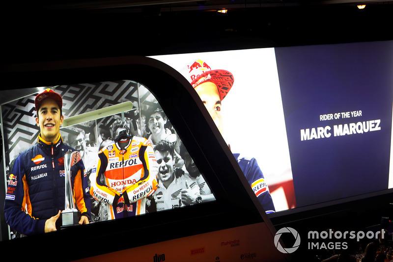 Pilote moto de l'année : Marc Márquez