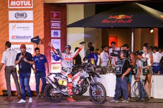 Podio: Hero Motorsports Team Rally: Oriol Mena