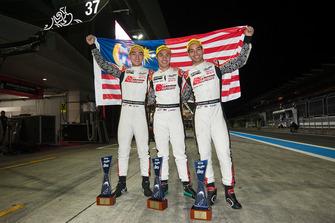 LMP2 winners #37 Jackie Chan DC Racing Oreca 07 Gibson: Jazeman Jaafar, Weiron Tan, Nabil Jeffri
