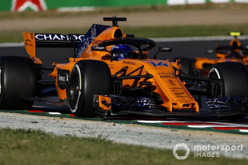 P14: Fernando Alonso, McLaren MCL33