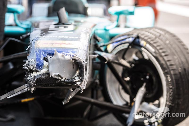 Nelson Piquet Jr., NEXTEV TCR Formula E Team nach dem Crash