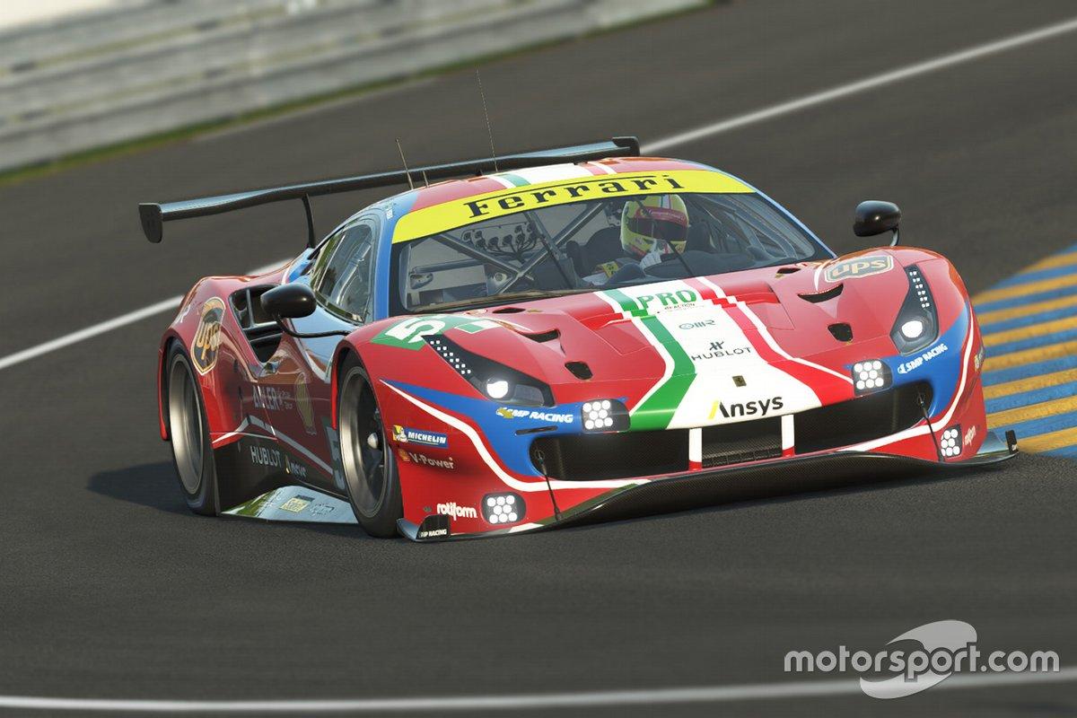 Charles Leclerc and Antonio Giovinazzi, Ferrari GTE