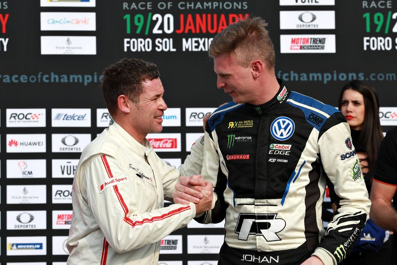 Juara: Tom Kristensen dan Johan Kristoffersson, Tim Nordik