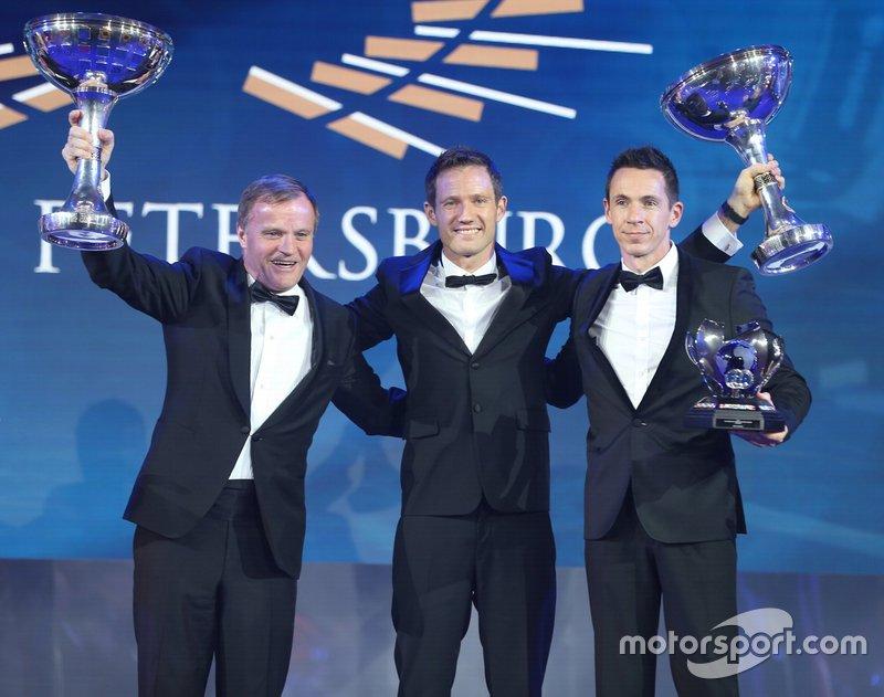 FIA World Rally Championship: Sébastien Ogier (piloto), Julien Ingrassia (Co-piloto) e Toyota Gazoo Racing WRT Toyota (equipe)