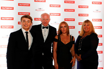 Billy Monger and family