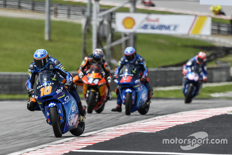 Luca Marini, Sky Racing Team VR46, Miguel Oliveira, Red Bull KTM Ajo, Francesco Bagnaia, Sky Racing Team VR46