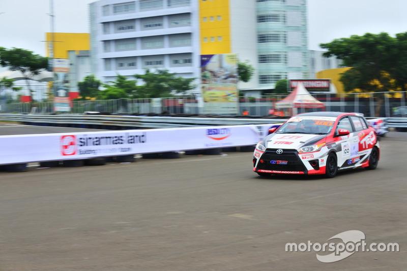 Demas Agil, Toyota Team Indonesia, ITCC 1600 Max