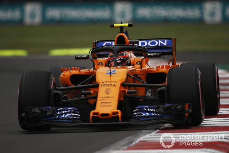 15: Stoffel Vandoorne, McLaren MCL33, 1'16.966