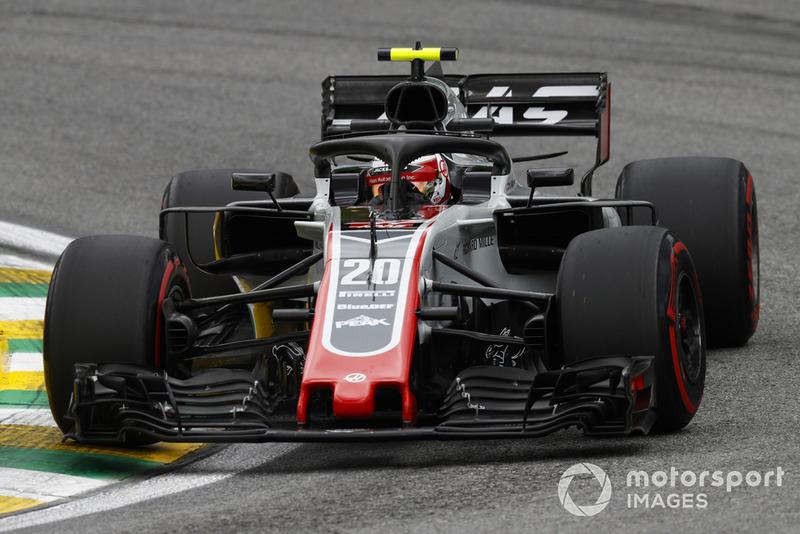 10: Kevin Magnussen, Haas F1 Team VF-18, 1'08.659