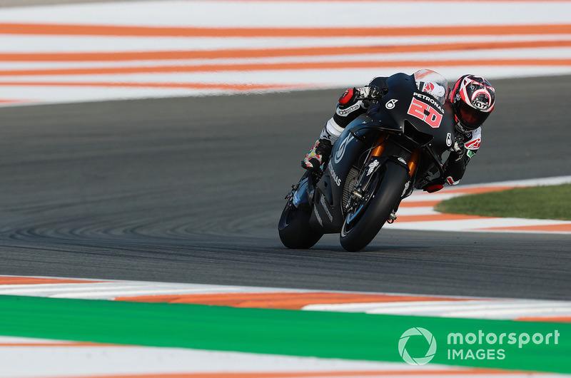 Fabio Quartararo a fait ses débuts en MotoGP, comme son équipe Petronas Yamaha SRT