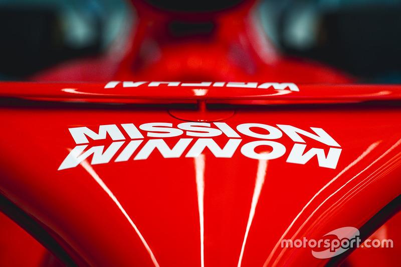 Livrée Ferrari Mission Winnow