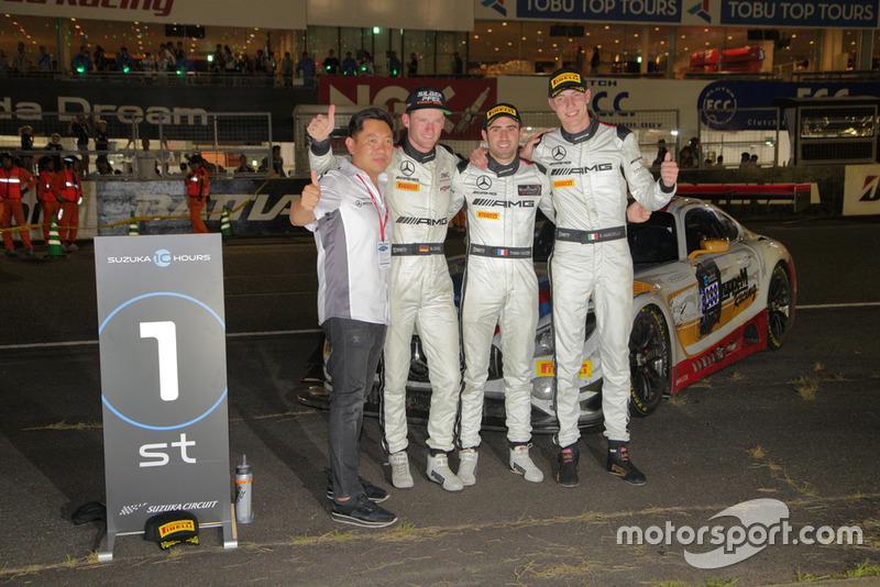 «10 годин Сузуки»: Маро Енгель, Рафаеле Марчелло, Трістан Вот'є, Mercedes-AMG Team GruppeM Racing