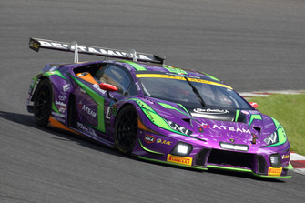 #88 JLOC Lamborghini Huracan GT3: Kazuki Hiramine, Marco Mapelli, Andrea Caldarelli